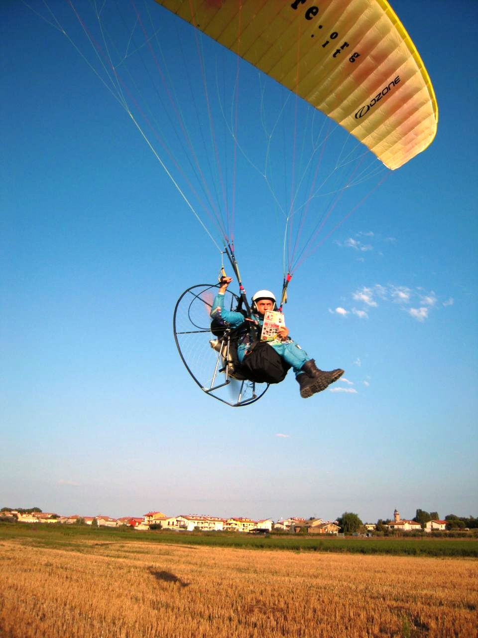 Volo Paramotore Paracarrello Italia Paramotor
